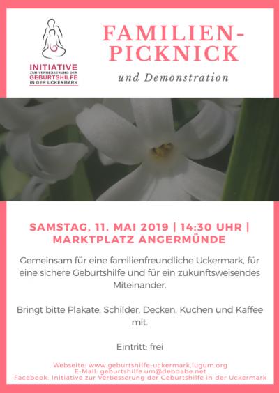 Einladung zum Familien-Picknick (Demo)
