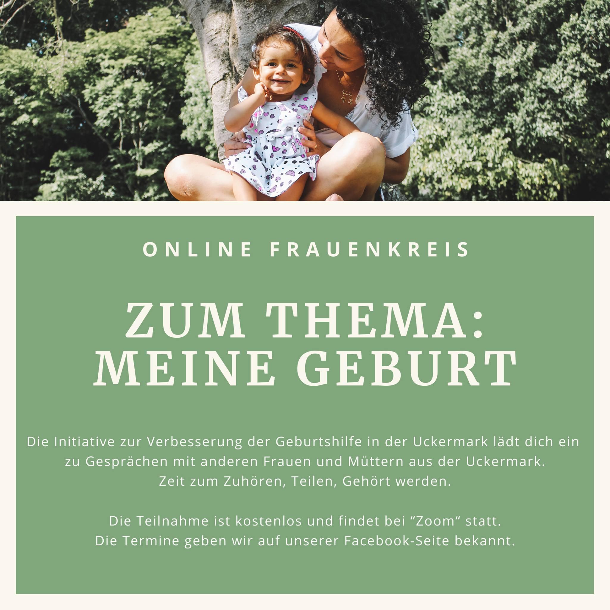 """Online-Frauenkreis """"Meine Geburt"""" am 29.05.2020"""